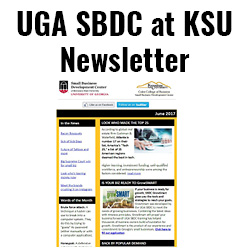 UGA SBDC at KSU Newsletter