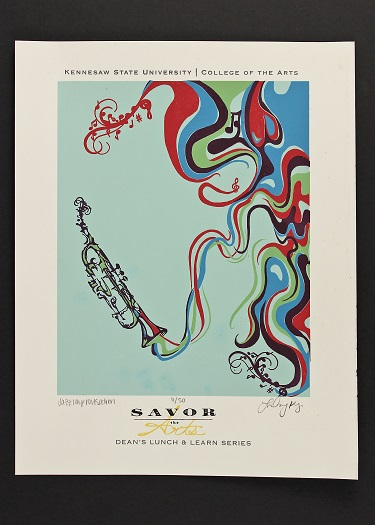 Savor the Arts-Print #3 Music