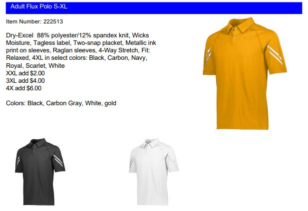 Divisional Polos